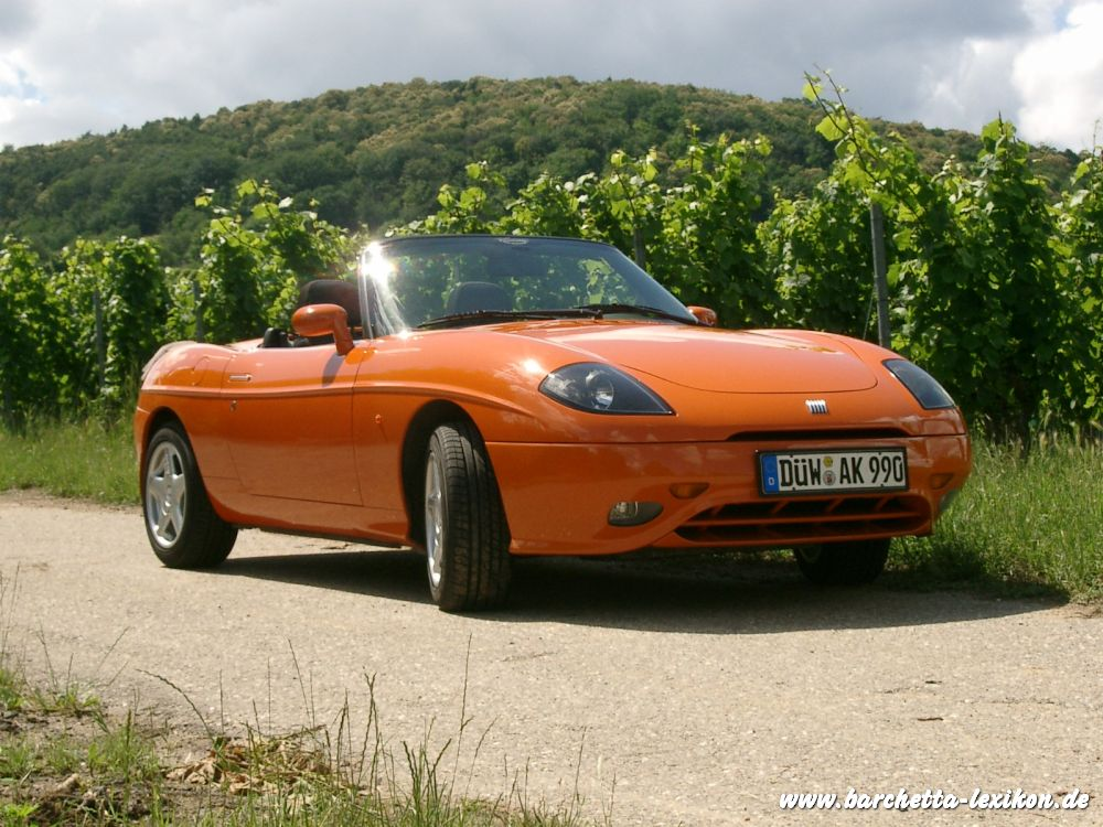 barchetta in arancio