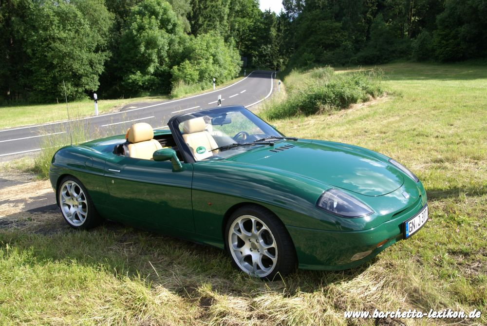 barchetta Limited Edition in Stilfser Joch Grün
