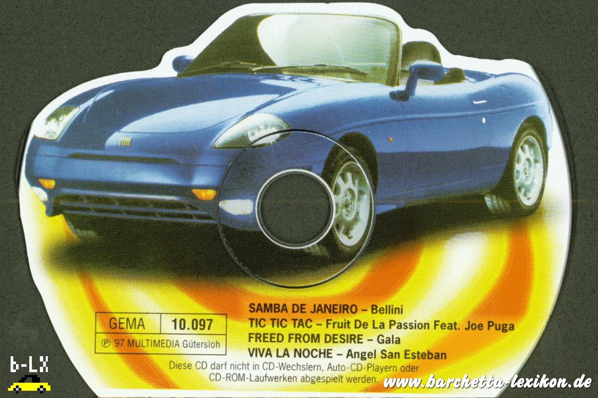 Shape CD Fiat barchetta