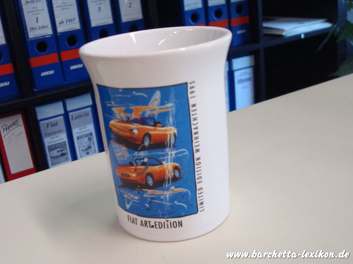 Tasse Fiat Art Edition barchetta